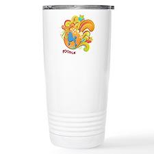 Groovy Poodle Travel Mug