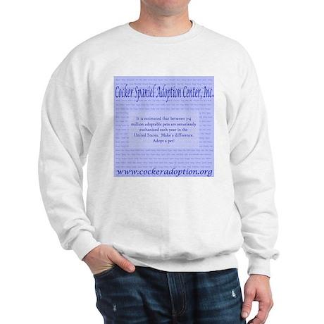 Pet Overpopulation Sweatshirt