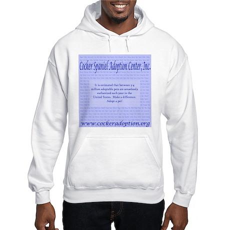Pet Overpopulation Hooded Sweatshirt