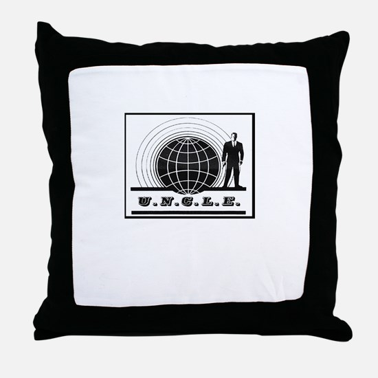 Man from UNCLE Throw Pillow