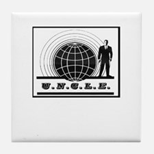 Man from UNCLE Tile Coaster