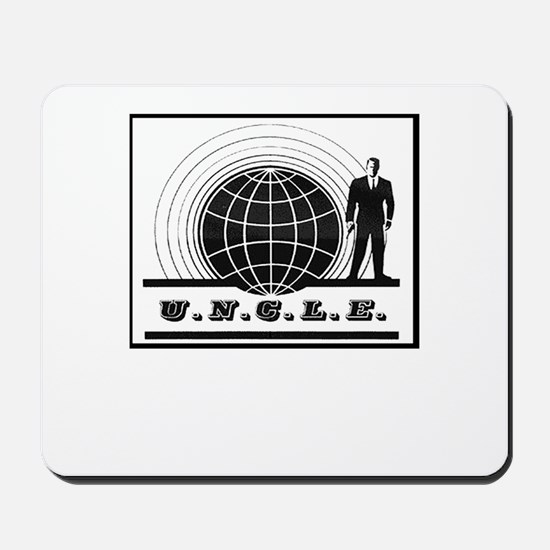 Man from UNCLE Mousepad