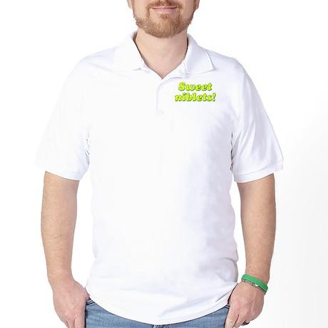 SWEET NIBLETS Golf Shirt