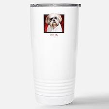 Shih Tzu Stainless Steel Travel Mug