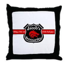 Jacob's Security Throw Pillow