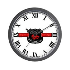 Jacob's Security Wall Clock