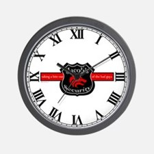 Jacob's Security Wall Clock
