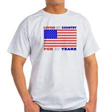 Patriotic 90th Birthday T-Shirt