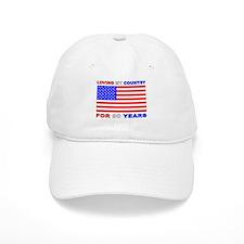 Patriotic 90th Birthday Cap