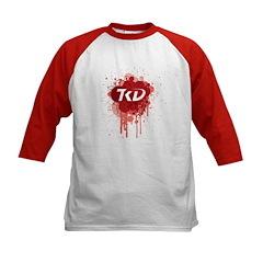 TKD Splatter Red Tee