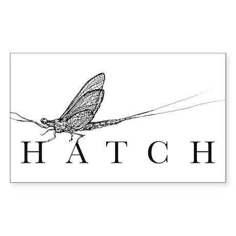 HatchFilm Rectangle Sticker