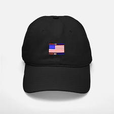 Patriotic 80th Birthday Baseball Hat