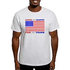 Patriotic 65th Birthday T-Shirt