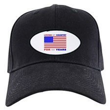 Patriotic 65th Birthday Baseball Hat