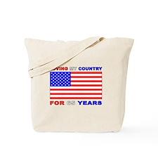 Patriotic 65th Birthday Tote Bag