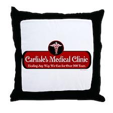 Carlisle's Medical Clinic Throw Pillow