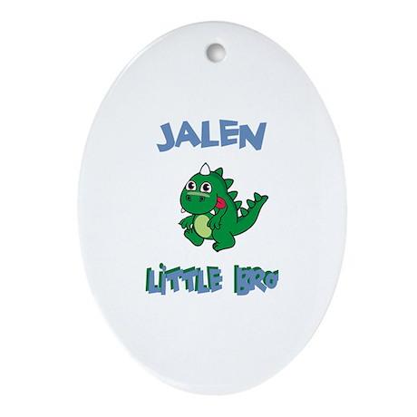 Jalen - Dinosaur Brother Oval Ornament