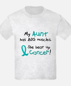 Big Muscles 1.1 TEAL (Aunt) T-Shirt