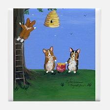 Honey, Honey Tile Coaster