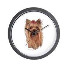 Yorkshire Terrier Wall Clock