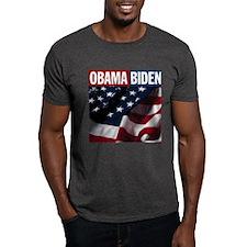 Obama-Biden American Flag T-Shirt