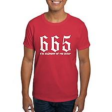 665 Neighbor of the Beast T-Shirt
