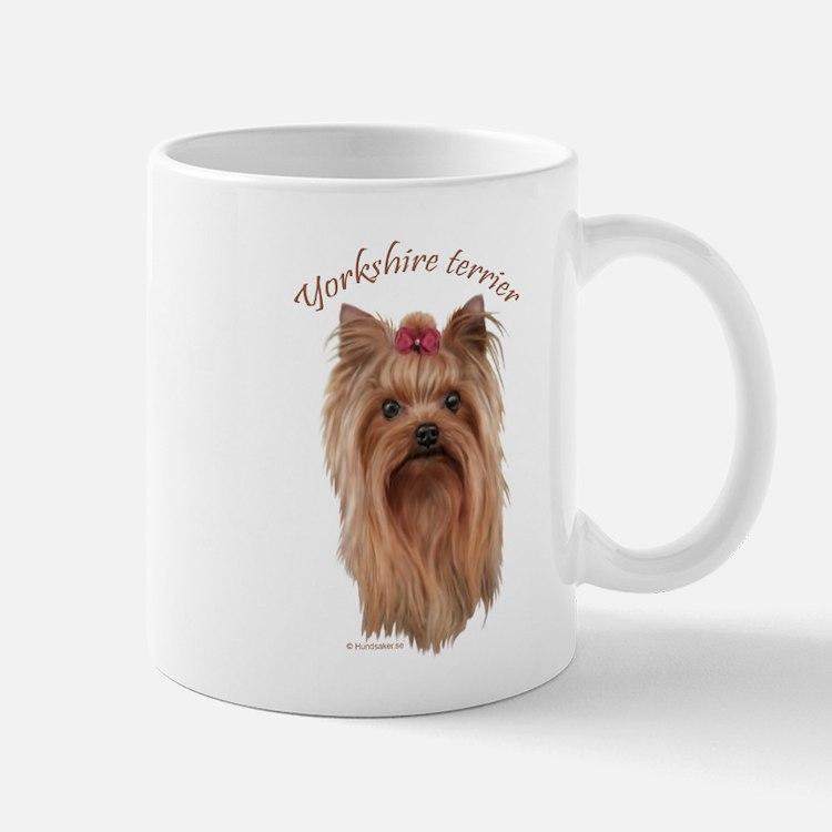 Yorkshire Terrier, breed name. Mug