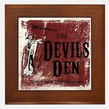 Devil's Den Framed Tile