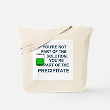 Solution Precipitate Tote Bag