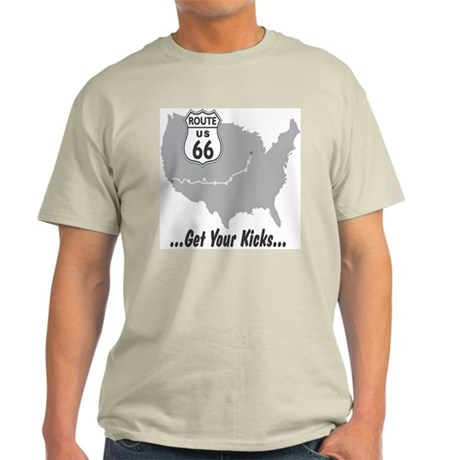 Get your kicks on Route 66 Light T-Shirt