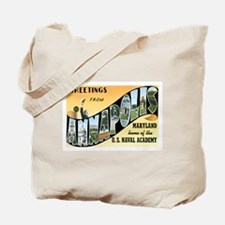 Annapolis Maryland MD Tote Bag