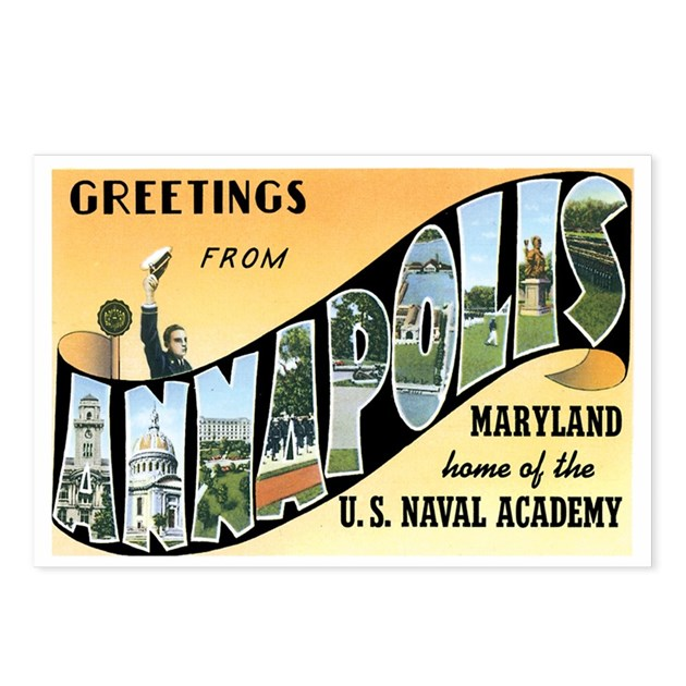 Annapolis Maryland MD Postcards (Package Of 8) By Caferetro