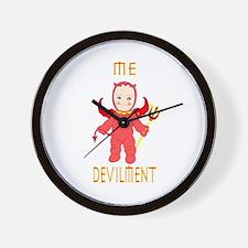 devilment wall clock