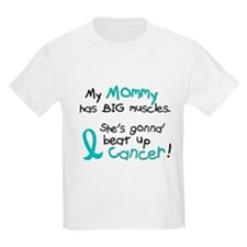 Big Muscles 1.2 TEAL (Mommy) T-Shirt