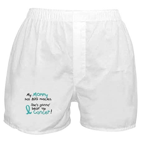 Big Muscles 1.2 TEAL (Mommy) Boxer Shorts