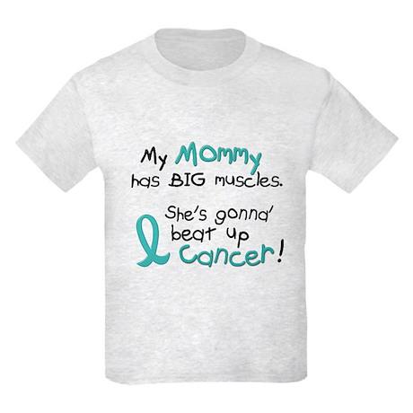 Big Muscles 1.2 TEAL (Mommy) Kids Light T-Shirt