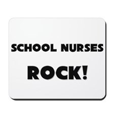 School Nurses ROCK Mousepad
