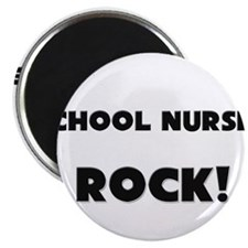 School Nurses ROCK Magnet