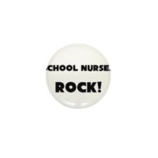 School Nurses ROCK Mini Button (10 pack)