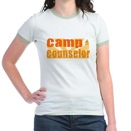 Camp Counselor Jr. Ringer T-Shirt