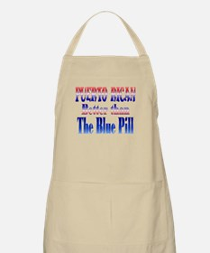 puerto rican blue pill BBQ Apron