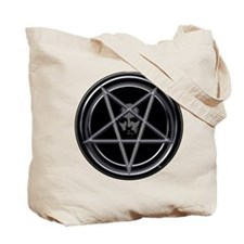 Pentagram with Father Tote Bag (2 Sided)
