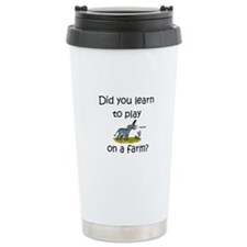Donkey Farm Travel Coffee Mug
