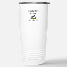 Donkey Farm Travel Mug