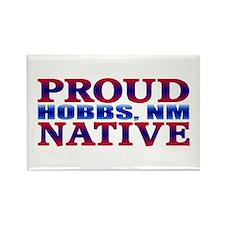 I Love Hobbs New Mexico Rectangle Magnet