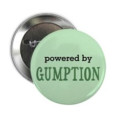 """Powered By Gumption 2.25"""" Button"""