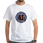 Compton County Fire White T-Shirt