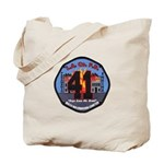 Compton County Fire Tote Bag