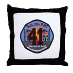 Compton County Fire Throw Pillow