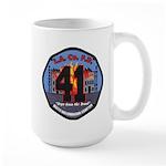 Compton County Fire Large Mug